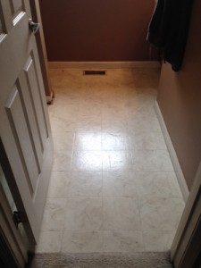 Floor Tile - Before